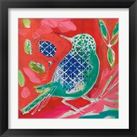 Framed Petite Bird II