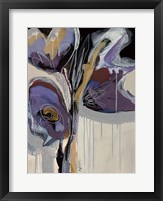 Framed Floral Impressions II