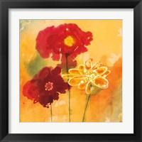 Framed Sunflowers II