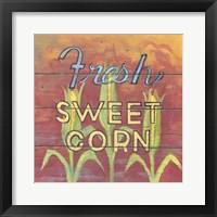 Framed Fresh Sweet Corn