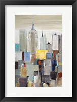 Framed New York Skyline I