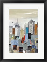 Framed New York Skyline III