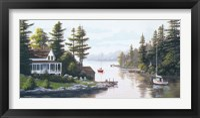 Framed Cottage Country