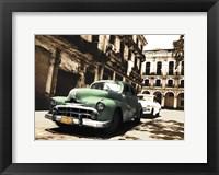 Framed Cuban Cars II