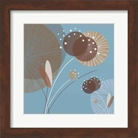 Framed Blue Breeze I