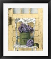 Framed Cottage Bouquet I