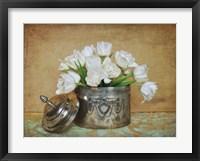 Framed Vintage Tulips II