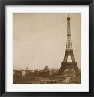 Framed Historical Paris