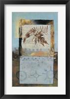 Framed Nature Leaf II