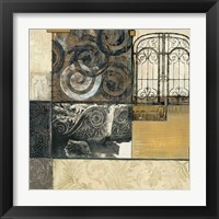 Framed Classical Ruins I