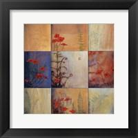 Framed Fern Nine Patch