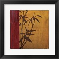 Framed Modern Bamboo I