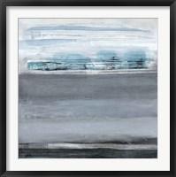 Framed Snowy Tracks