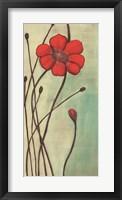 Framed Eclat Rouge
