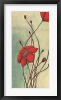 Framed Beaute Rouge