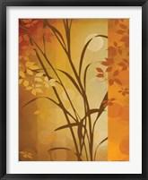 Framed Autumn Sunset I
