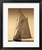 Framed Under Sail I