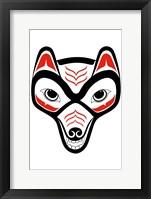 Framed Coyote II