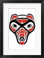 Framed Coyote I