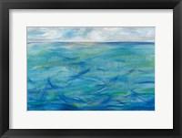 Framed Deep Blue