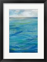 Framed Deep Blue II