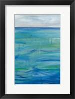 Framed Deep Blue III