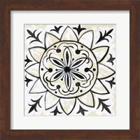 Framed Imaginary Sunflower