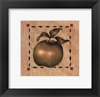 Framed Stenciled Apple I