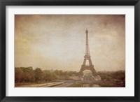 Framed Tour de Eiffel
