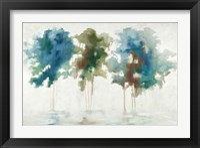 Framed Tree Trio