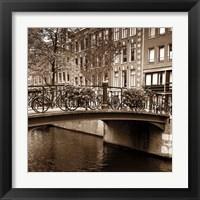 Framed Autumn in Amsterdam III