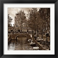 Framed Autumn in Amsterdam IV