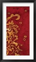 Framed Red Shinwa I