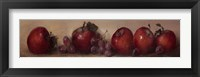 Framed Apples and Grapes