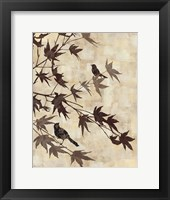 Framed Maple Chorus I