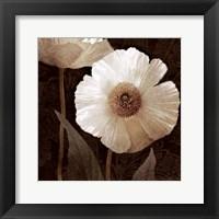 Framed Paisley Poppy II