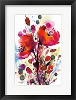 Framed Floral Dream II