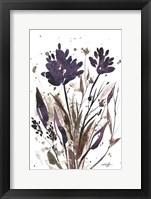 Framed Floral Music II