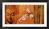 Framed Buddha Panel I