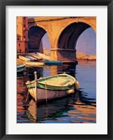 Framed Reflejos de Marsella I