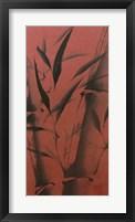 Framed Bamboo's Calm