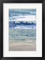 Framed Coastal Hues I