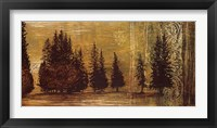 Framed Forest Silhouettes I