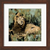 Framed Heart of the Jungle II