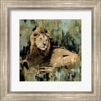 Framed Heart of the Jungle II
