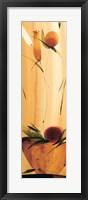 Framed Slender Florals I