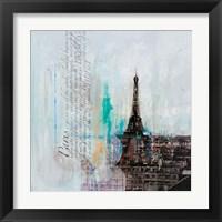 Framed City of Light I