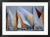 Framed Ocean Regatta