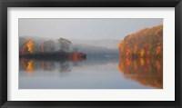 Framed Early Fall Morning at the Lake