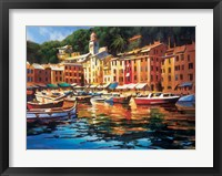 Framed Portofino Colors